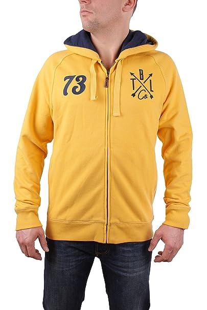 Timberland Hombres chaqueta sudadera con capucha Brown River Hoody (Medium, Amarillo): Amazon.es: Ropa y accesorios