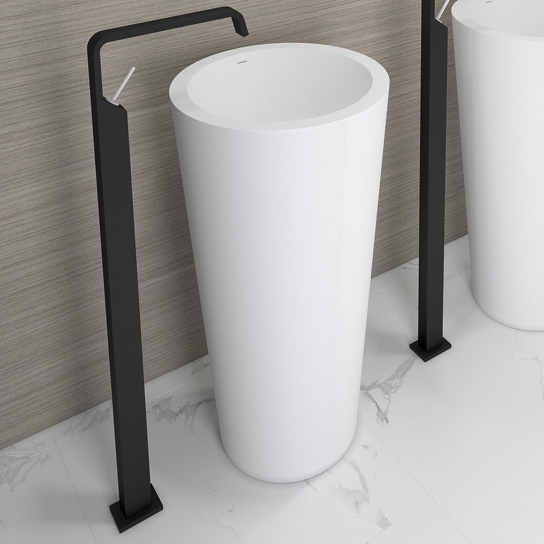 46.5x85 solid surface Art/&Bath Onyx lavabo de pie