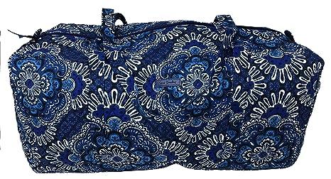 Amazon.com: Vera Bradley - Bolsa de viaje (tamaño grande), L ...