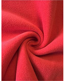 WINE Polar FLEECE soft fabric material antipill 150cm TOP QUALITY