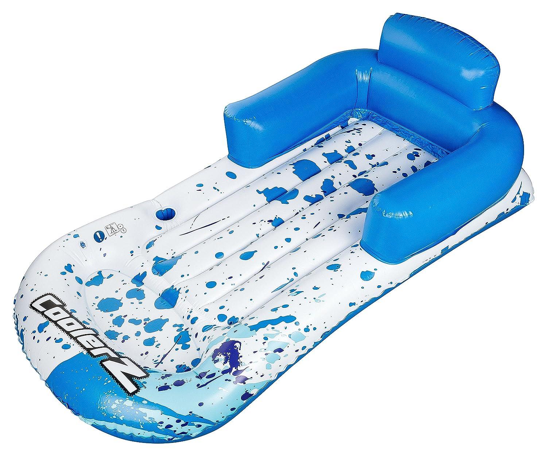 INTEX Lounge Luftmatratze Wasserliege Wasser Strand Matratze 188x71cm Grau