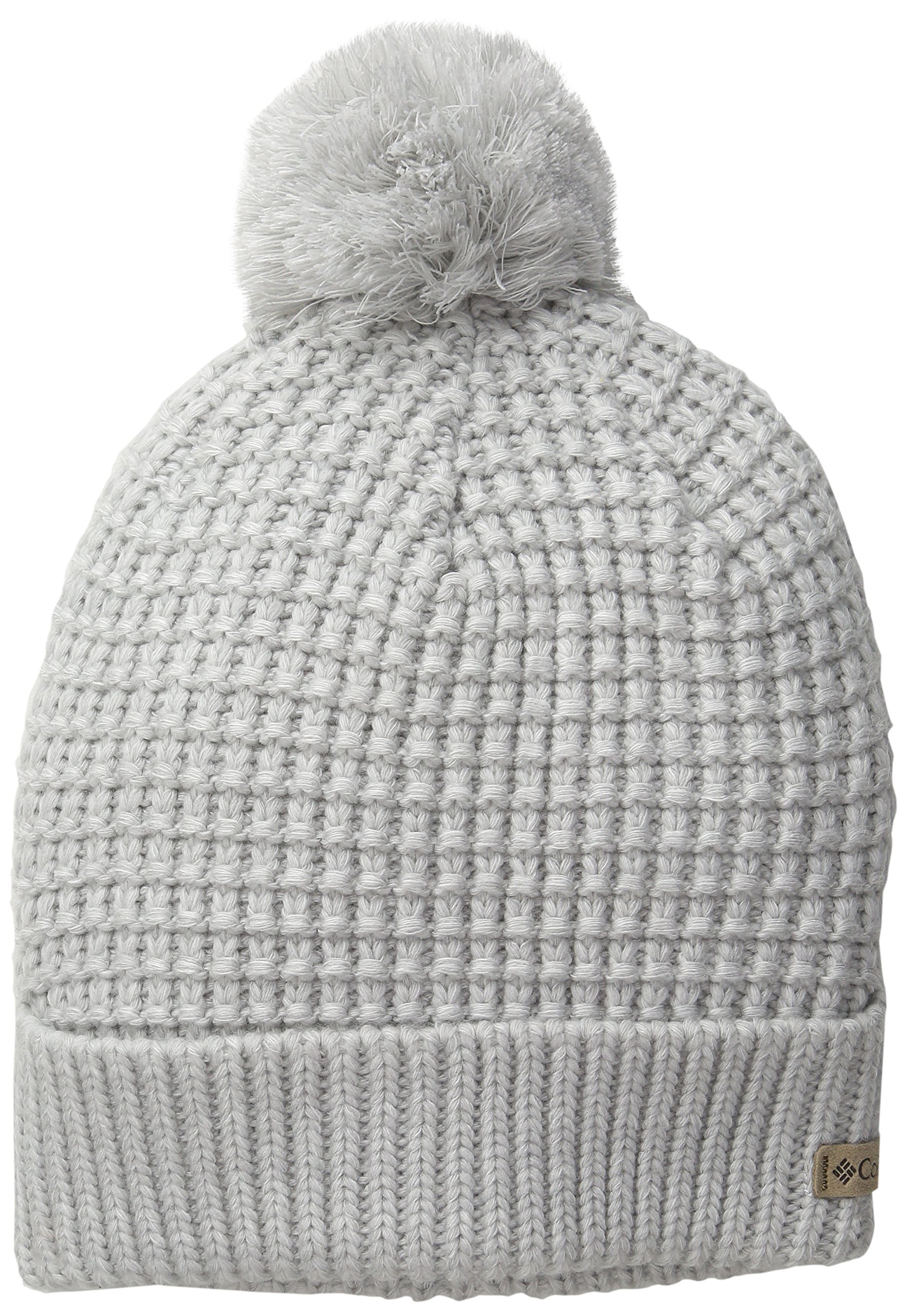 Columbia Women's Mighty Lite Watch Cap, Sea Salt/Cool Grey, One Size