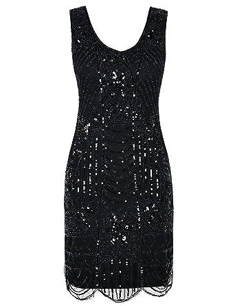 Flapper inspired cocktail dresses