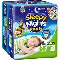 BabyLove Sleepy Nights 2 - 4 yrs, 12-18kg (12 pack x 3, 36 Total)