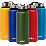 MIRA Insulated Stainless Steel Large Water Bottle | Vacuum Insulated Wide Mouth Thermos Flask | Keeps Water Stay Cold…