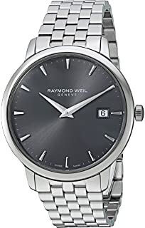 Raymond Weil Toccata Swiss Quartz and Stainless Steel Casual Watch, Color:Silver