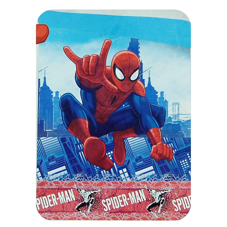 Marvel Spiderman Quilt Quilted Bedspread 180x 260cm Spring Summer Euronovità Srl