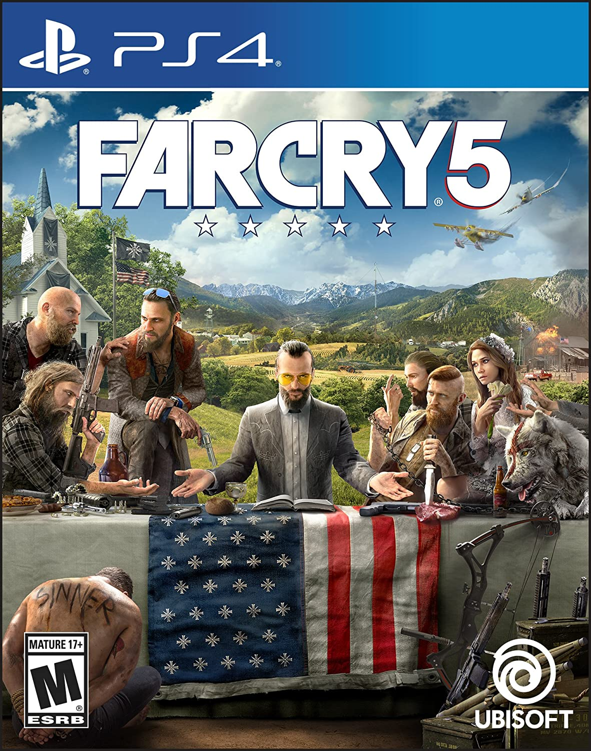 Amazon com: Far Cry 5 - PlayStation 4 Standard Edition: Ubisoft