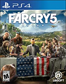 Far Cry 5 - PlayStation 4 Standard Edition: Ubisoft: Video Games