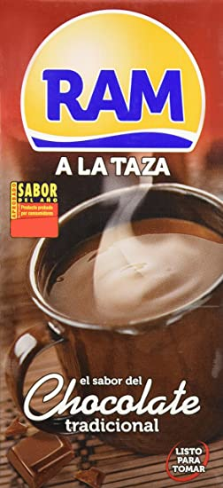 Ram Chocolate Lquido a la Taza - Pack 6 x 1 L - Total: 6