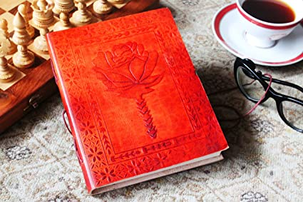 The Great Indian Bazaar Birthday Gift Ideas Leather Journal Diary Writing Notebook Personal Travel Unlined