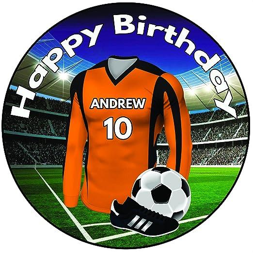 Decoración para tarta de cumpleaños, diseño de camiseta de ...