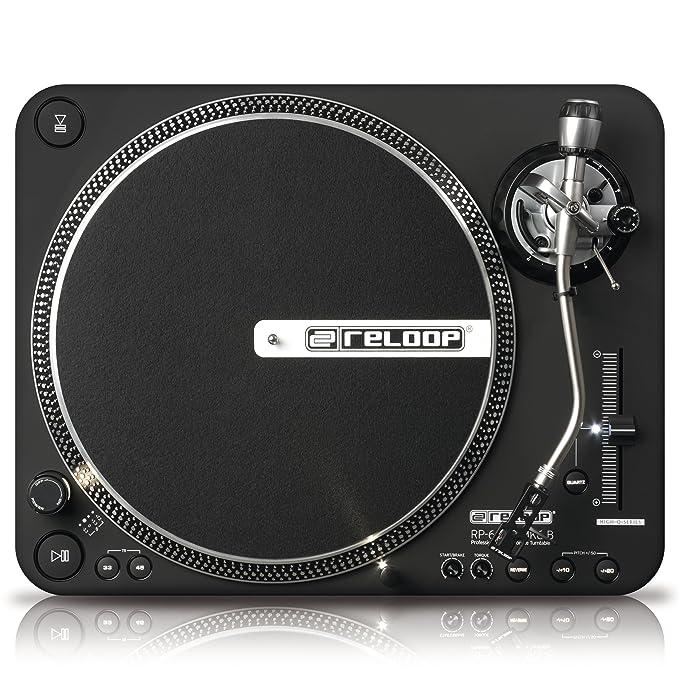 Amazon.com: Reloop rp-6000 MK6 B Direct Drive High Torque ...