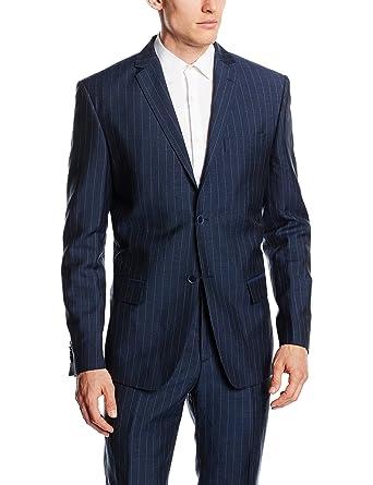 Mexx MX3020420 BLAZER - Chaqueta de traje Hombre, Azul ...