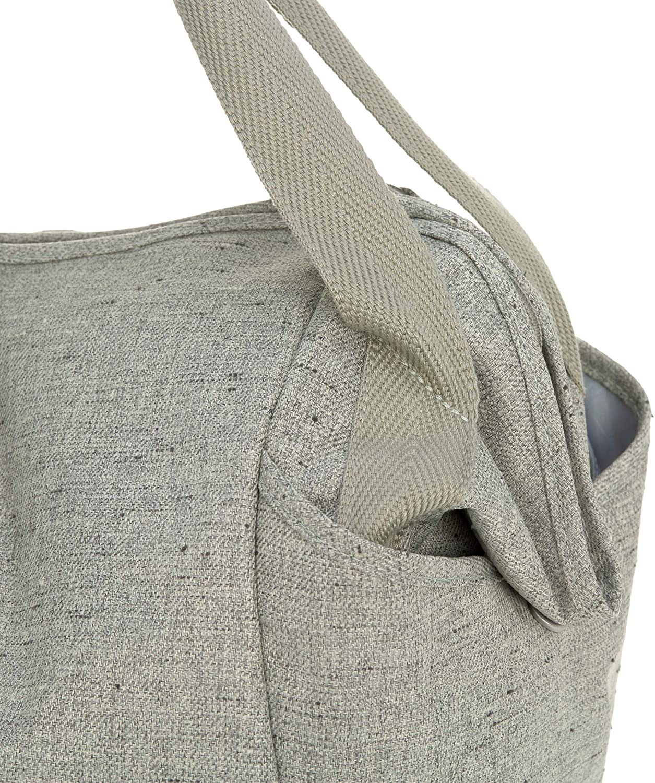 L/ässig Baby Wickeltasche Zwillinge Zwillingswickeltasche Babytasche Kliniktasche Wickelrucksack incluida Wickelzubeh/ör//Casual Twin Bag Color beige.