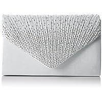 SWANKYSWANS Womens Abby Diamante Envelope Style Bag Clutch