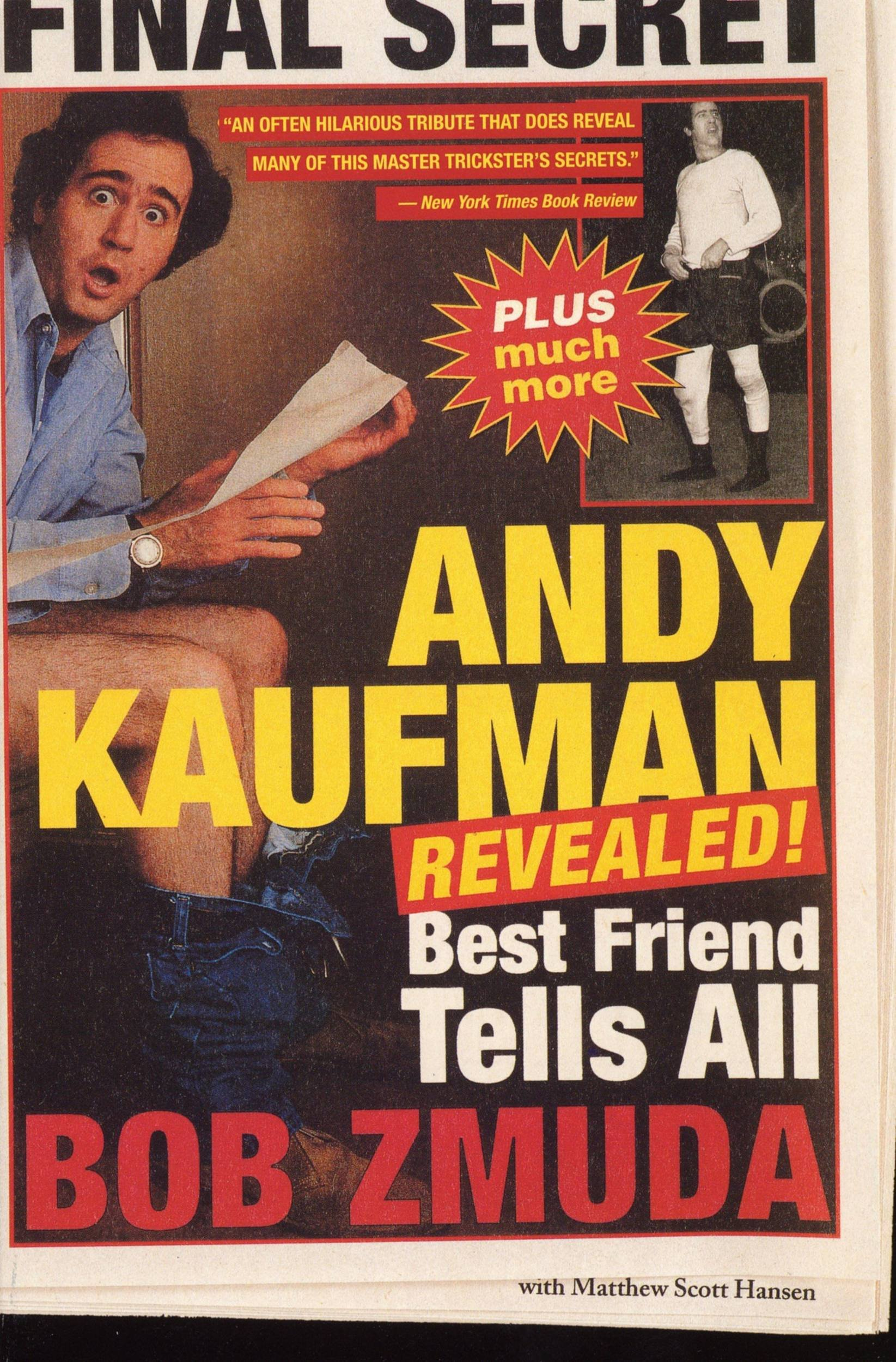 Andy Kaufman Revealed   Best Friend Tells All  English Edition
