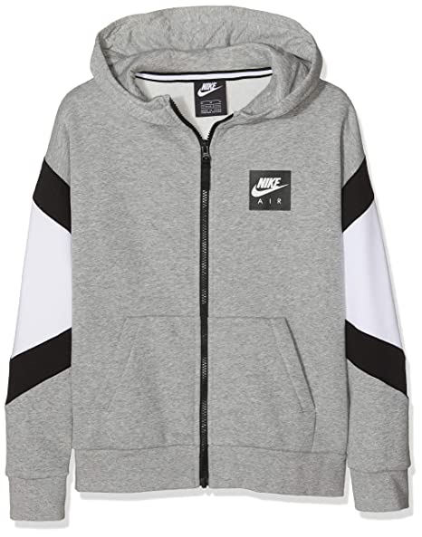 pretty nice good service outlet boutique Amazon.com: Nike Boy's Sportswear Air Hoodie Full Zip Sweat ...