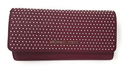 78b7ae44740e Image Unavailable. Image not available for. Color  Michael Kors Jet Set  MIcro Stud Saffiano Leather ...