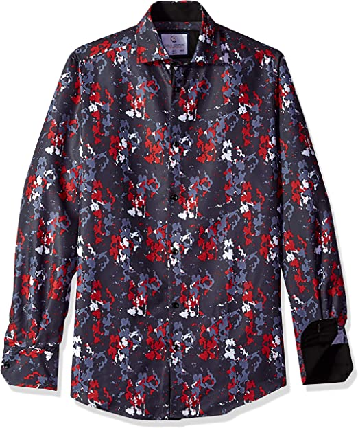 Elliesox Mens Lightweight Short Sleeve Poplin Shirt 1245