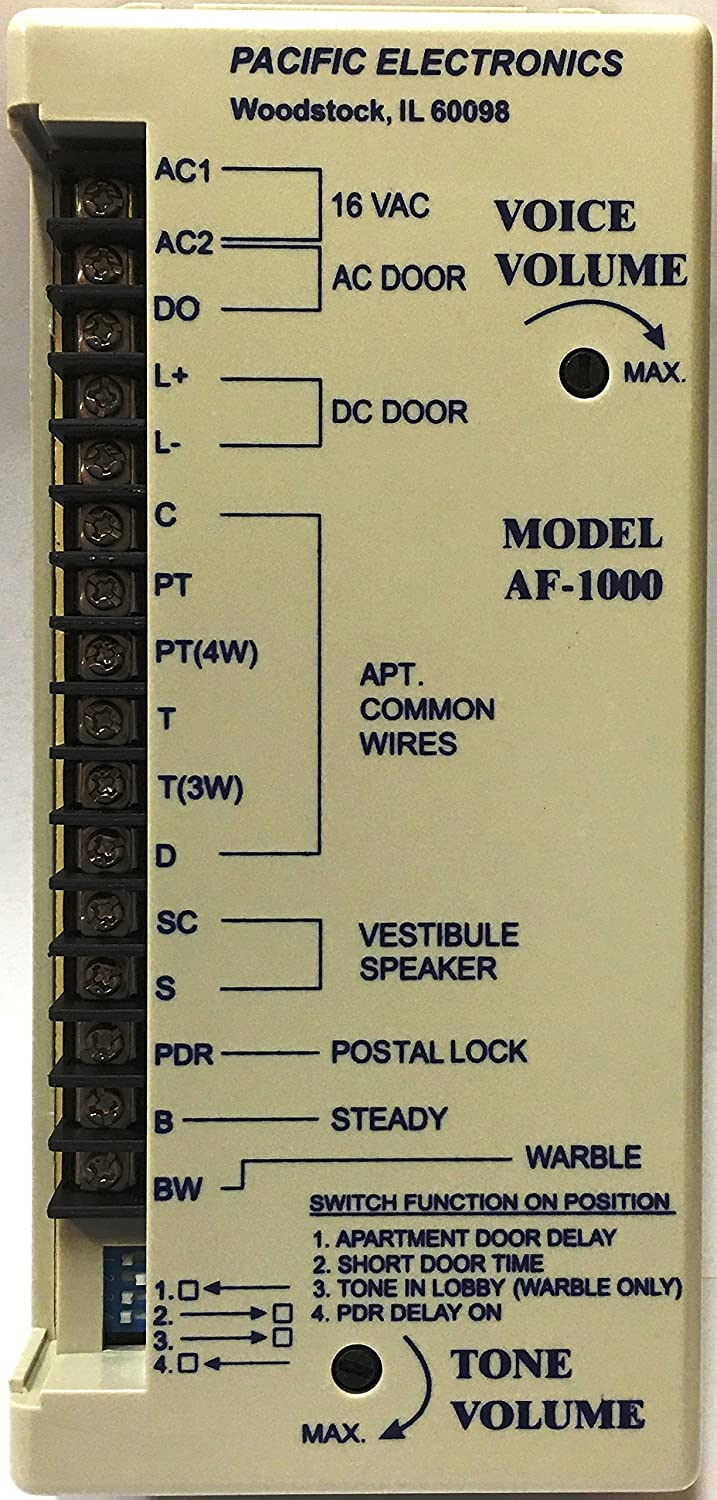 91kenvmEedL._SL1500_ pacific electronics af 1000 pacific electronics amplifier for 3, 4 pacific call box 3404 wiring diagram at reclaimingppi.co