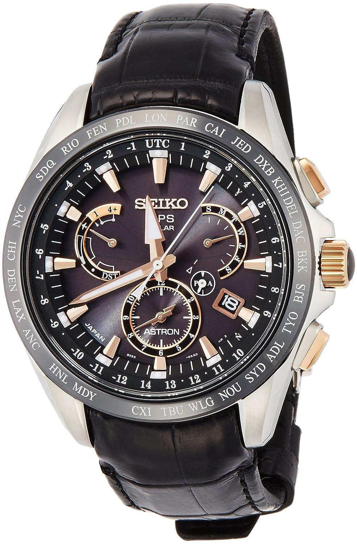 [ASTRON]アストロン 腕時計 デュアルタイム ソーラーGPS衛星電波修正 サファイアガラス 10気圧防水 SBXB061 メンズ B0171HAIOM