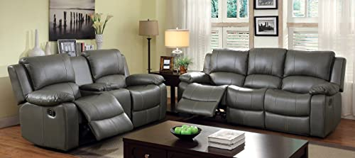 Furniture of America Robyn 2-Recliner Sofa