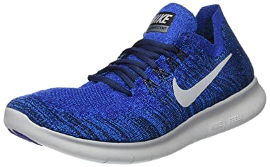 Nike Free RN Flyknit 2017, Chaussures de Running Homme: