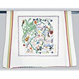 Catstudio New Jersey Dish Towel - Original Geography Collection Décor 039D(CS)
