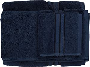 Better Homes Gardens Thick Plush Solid Bath Collection,6-Piece Set,Admiral Blue
