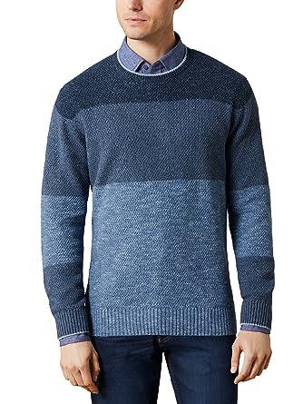 Walbusch Herren Reiskorn Pullover, Einfarbig  Walbusch  Amazon.de   Bekleidung b23ef094bd