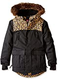 686 Girls Harlow Insulated Jacket, Black/Clear