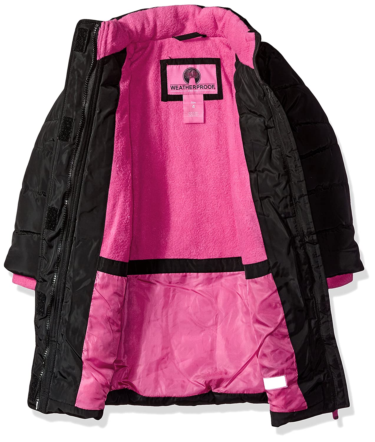 07ab3eed1 Weatherproof Girls  Outerwear Jacket (More Styles Available)  Amazon ...