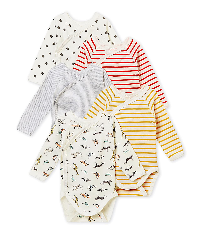 Petit Bateau Conjunto de Ropa Interior para Bebé s (Pack de 5) 4369600