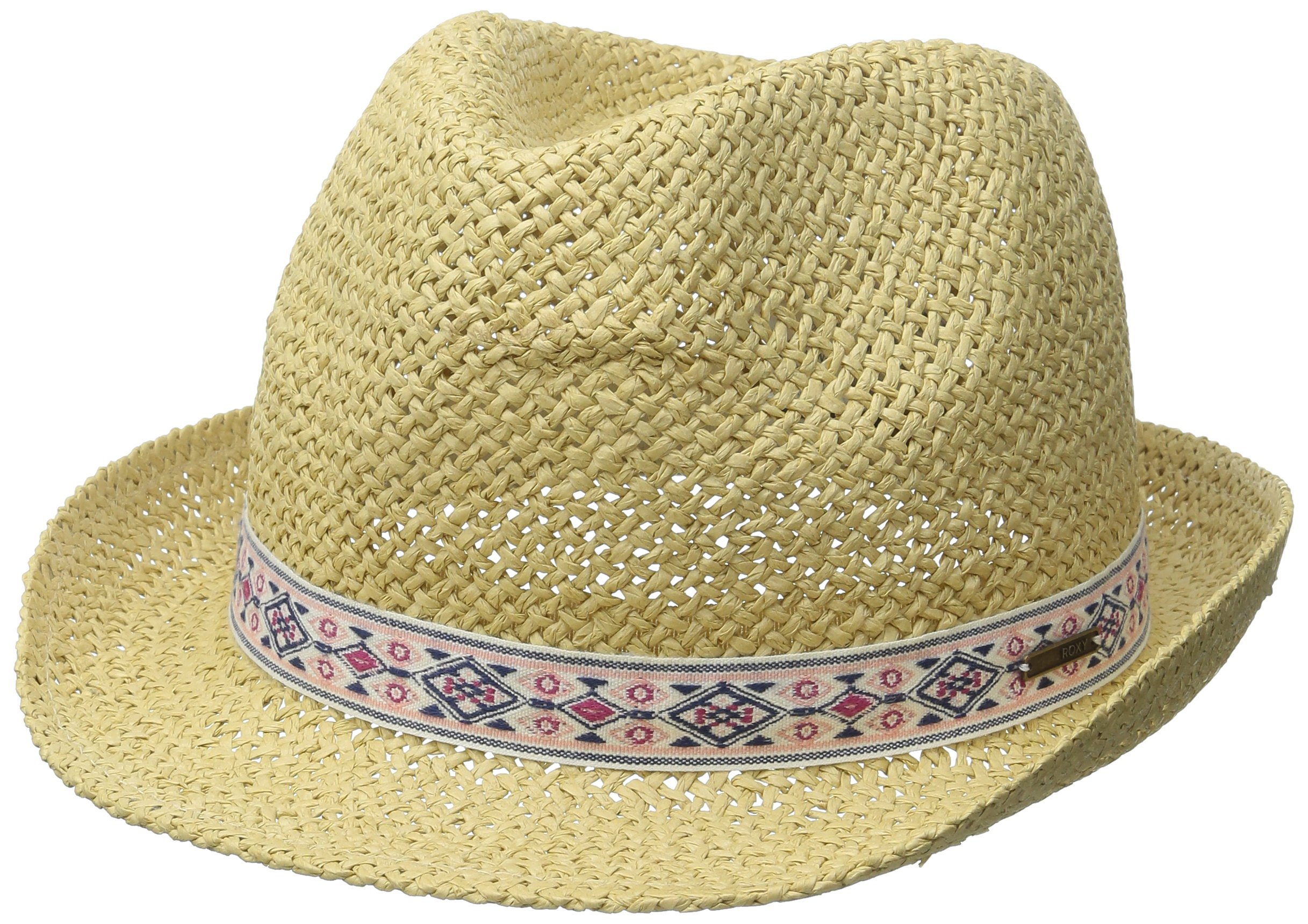 Roxy Junior's Bring Roses Hat, Natural, Small/Medium by Roxy