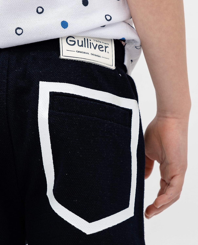GULLIVER Jungen Shorts Training Shorts Kinder Jungs Navy Blau Gummizug 98-128 cm