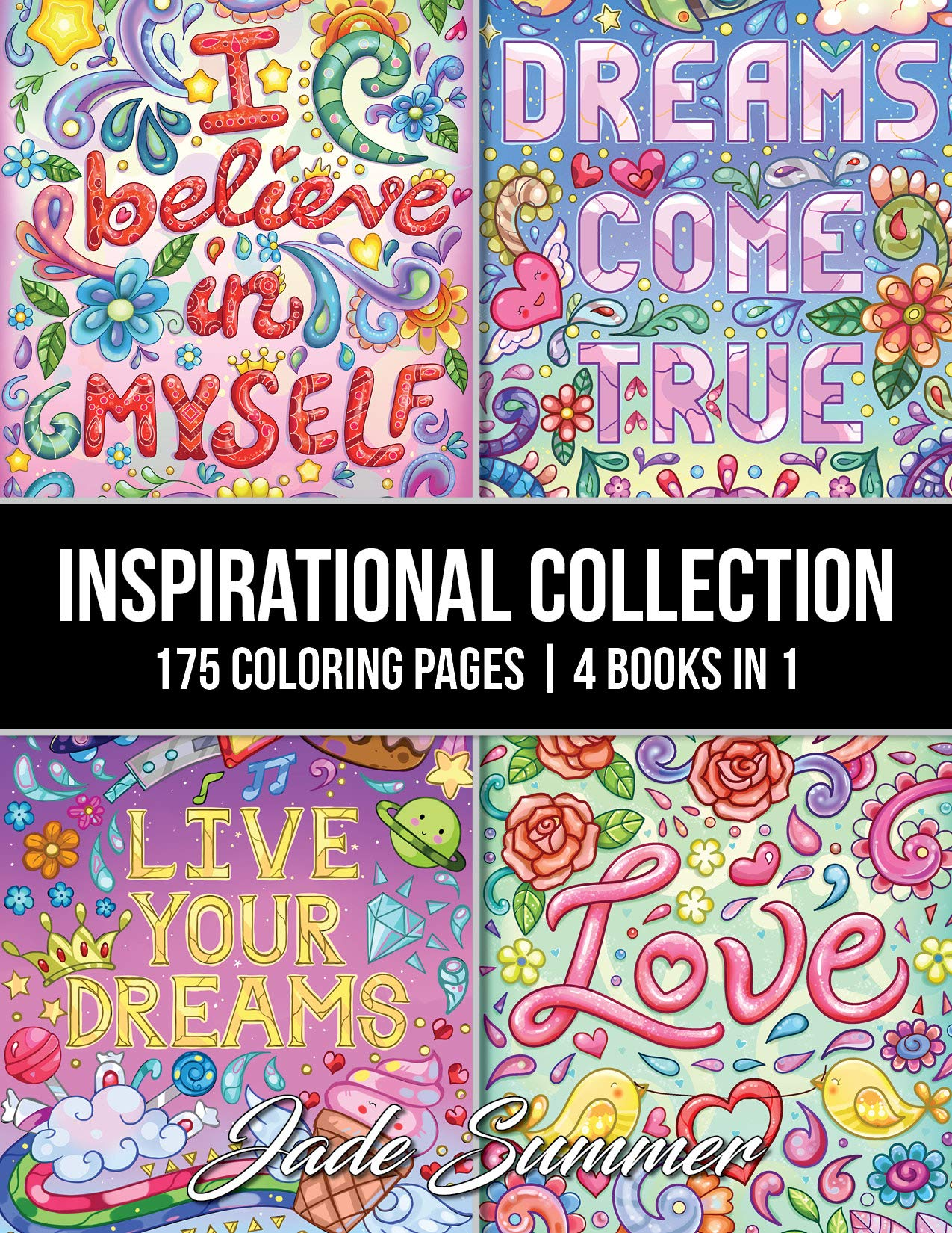 Inspirational Collection Coloring Motivational Affirmations product image