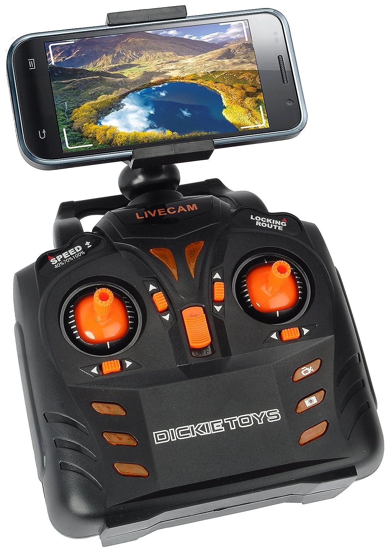 NEU Spielware Dickie RC Livecam Quadrocopter