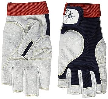 crazy4sailing Amara Kunstleder Segelhandschuhe Racing 5 Finger frei Segeln Glove Bekleidung