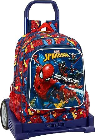 Safta Mochila Espalda Ergonómica Spiderman