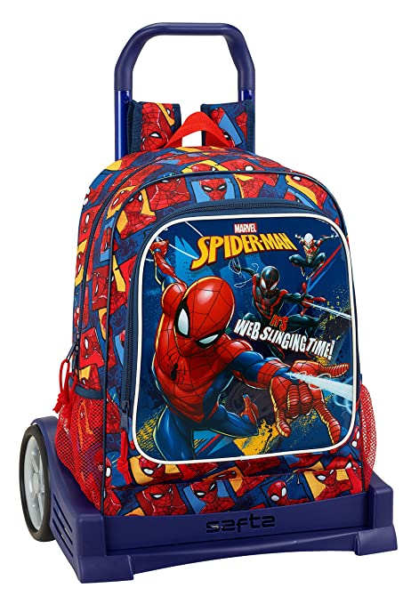 "Safta Mochila Espalda Ergonómica Spiderman ""Slinging Time"" ..."