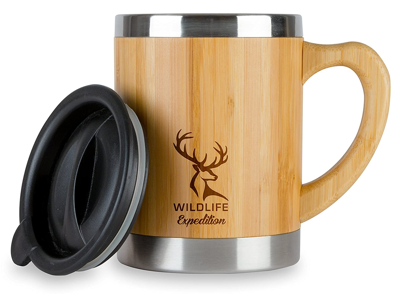 Amazon.com | Wildlife Expedition Insulated 13oz Coffee Mug ...