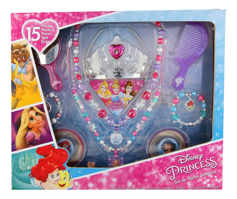 Taldec–t17930–Disney Princess–Large 15Pieces Jewellery Set