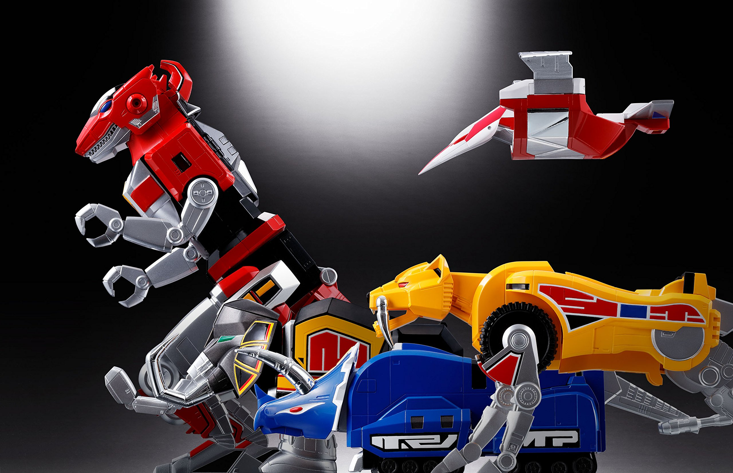 Bandai Tamashii Nations Soul of Chogokin Mighty Morphing Power Rangers Action Figure by Bandai (Image #19)