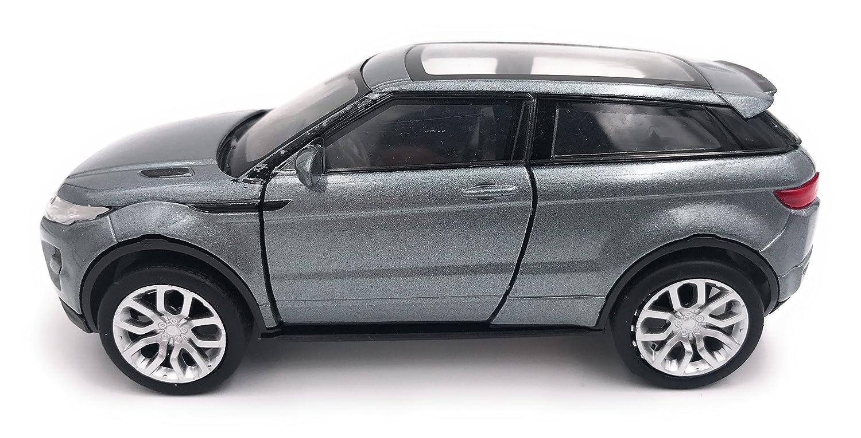 Welly Range Rover Evoque Modellauto Auto Lizenzprodukt 1:34-1:39 Silber