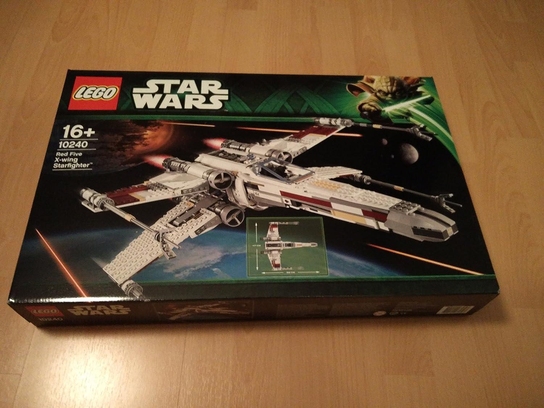 LEGO STAR WARS X Wing Starfighter TM Red 10240