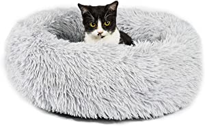 Gbrand Dog Bed Cat Beds Round Donut(Small 23