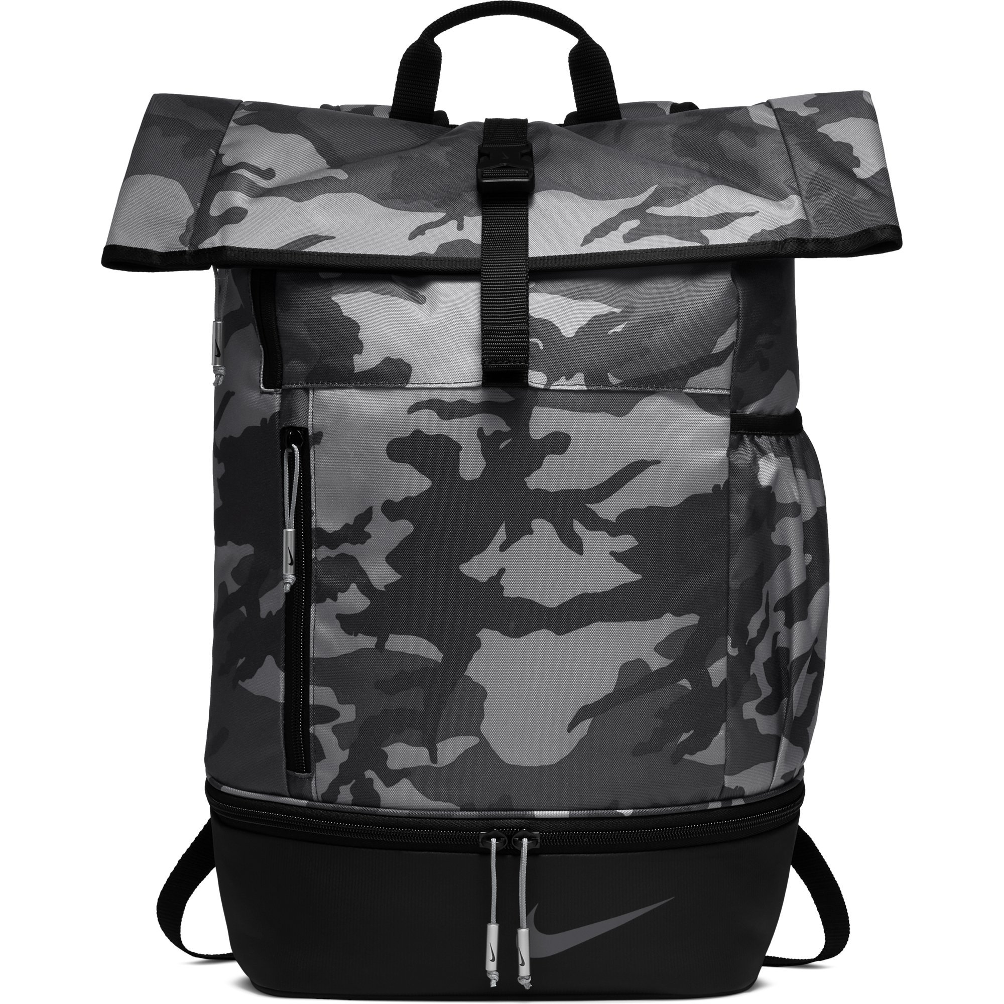 NIKE Sport All Over Print Golf Backpack, Anthracite/Black/Anthracite by Nike