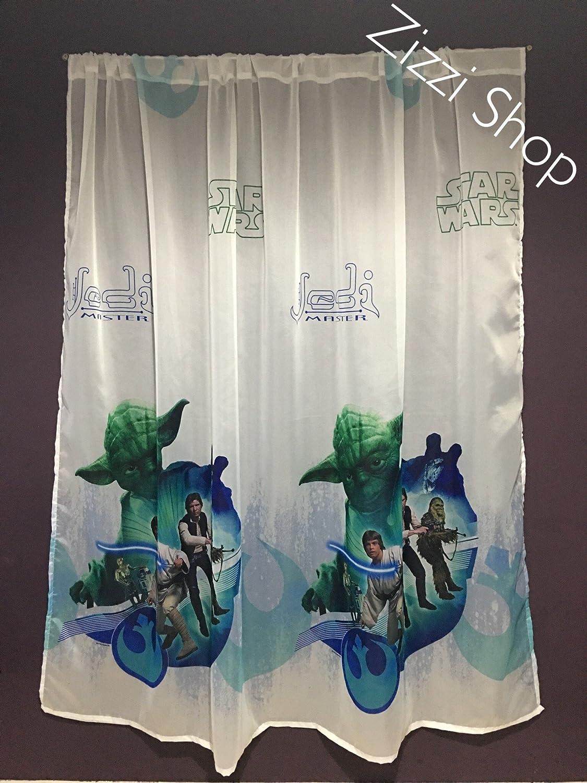 P Gardinen Star Wars Jedi Teil 75cm B x 157cm L Kinderzimmer Vorhang Disney