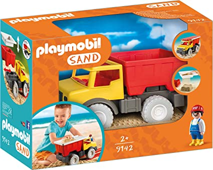 PLAYMOBIL® Dump Truck Building Set